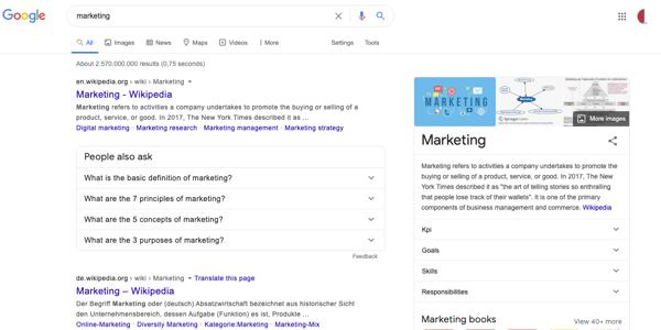 SEO Updates Google