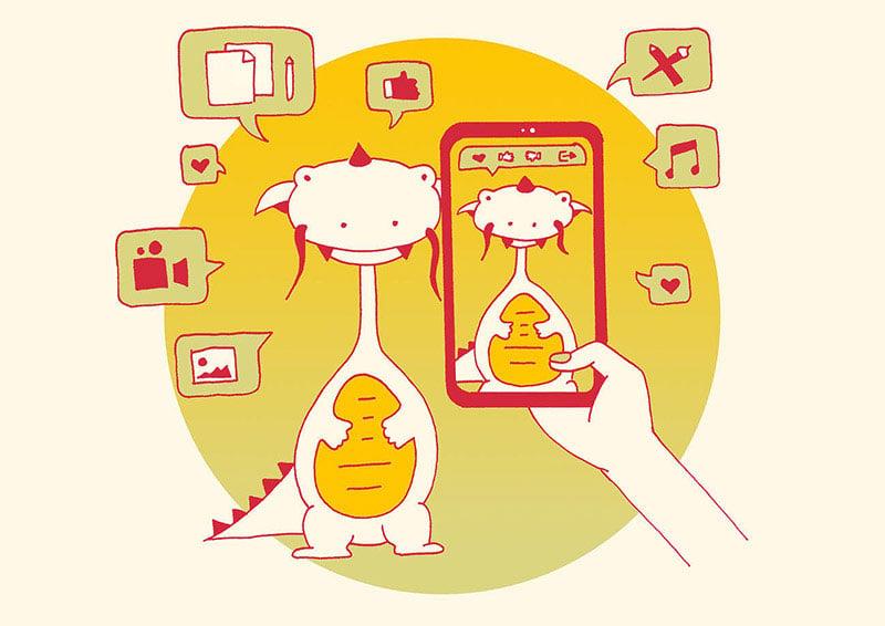 Illustration_WeChatPost_the_precept_of_your_social_media_presence