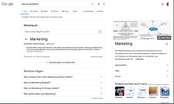 Zero-click-search