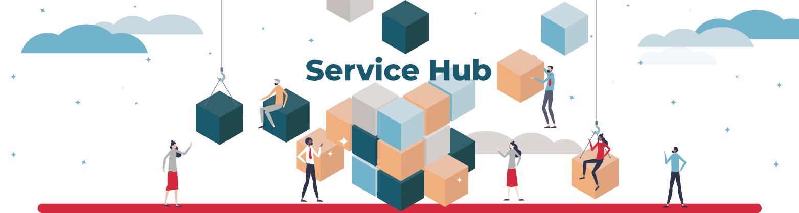 Service hub